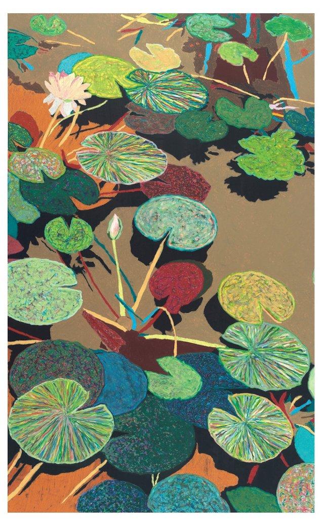 Allan Friedlander, Water Lilies III