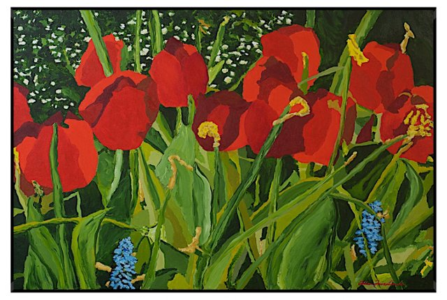 Alan Friedlander, Red Flowers