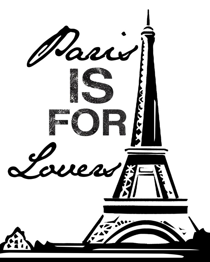 Paris Is For Lovers Canvas Print