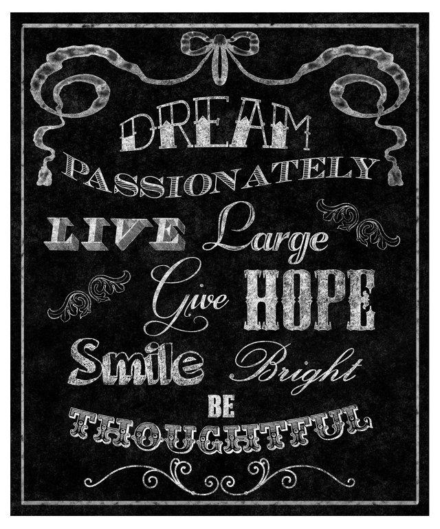 Dream Passionately