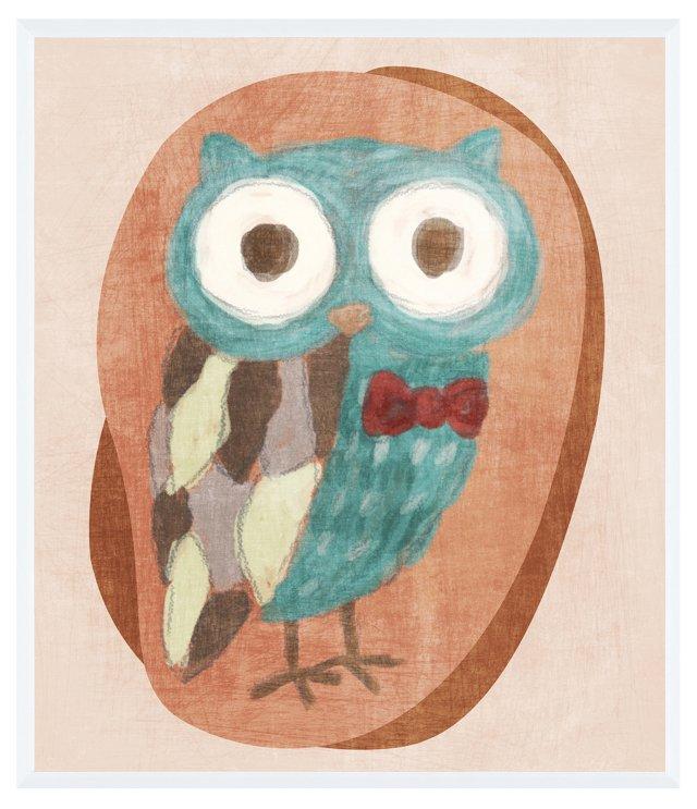 Owl with Bowtie