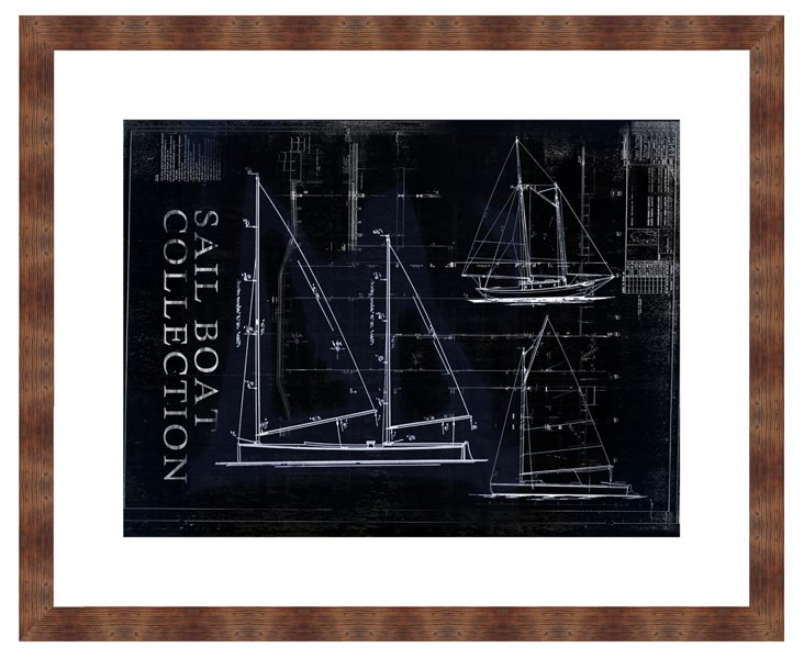 Sailboat Collection in Black