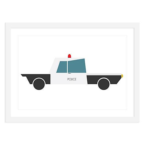 Police Car , Mini, ModernPOP