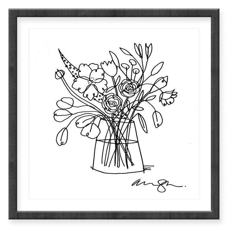 Alanna Cavanagh, Ranunculus Bouquet II
