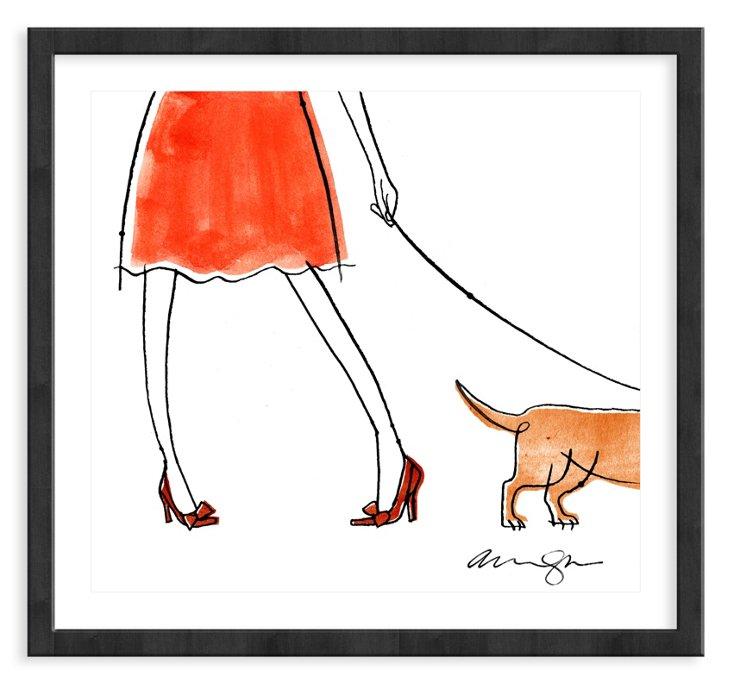 Alanna Cavanagh, Red Bow Shoes