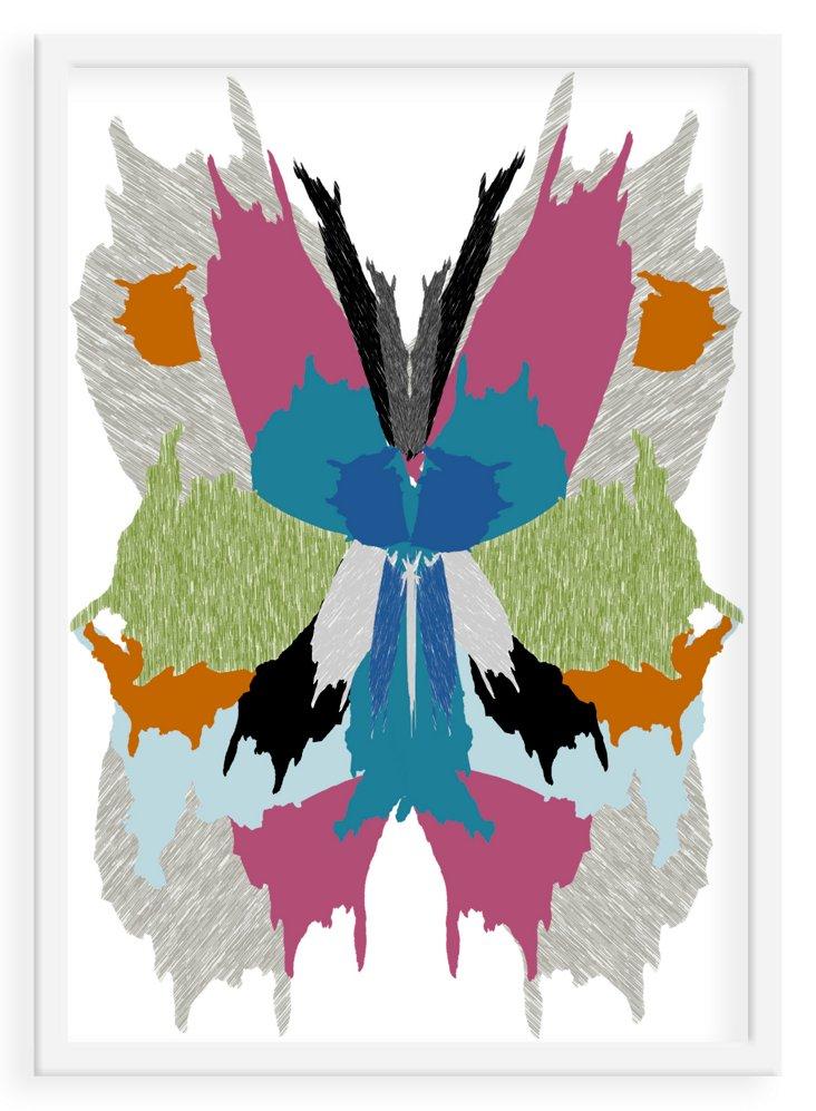 Lona de Anna, Butterfly, Neon, Mini