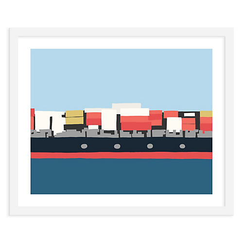 Container Ship Middle, Jorey Hurley