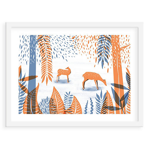 Papio Press, Deer in the Woods