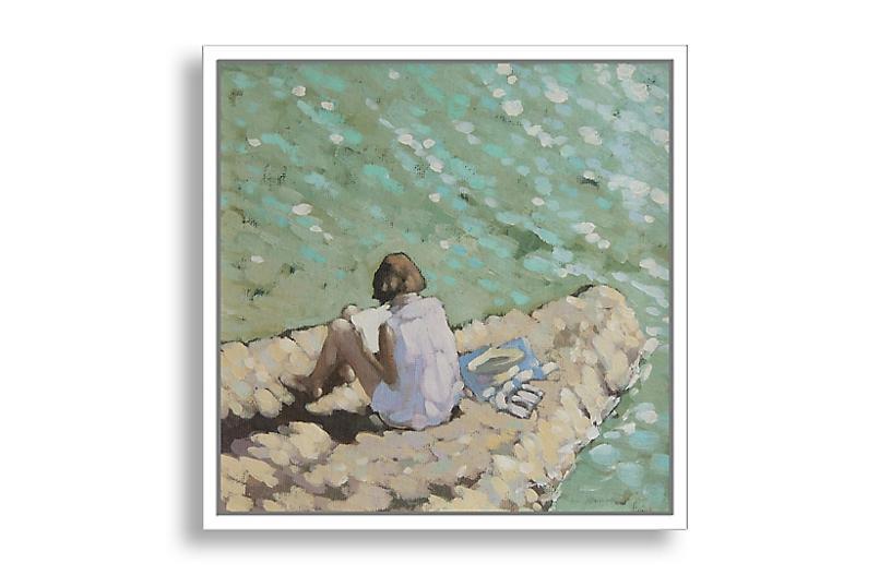 A Quiet Read - Gordon Hunt Art