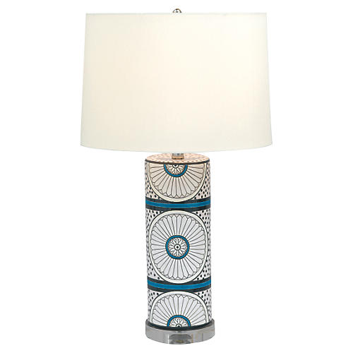Suzanne Table Lamp, Blue