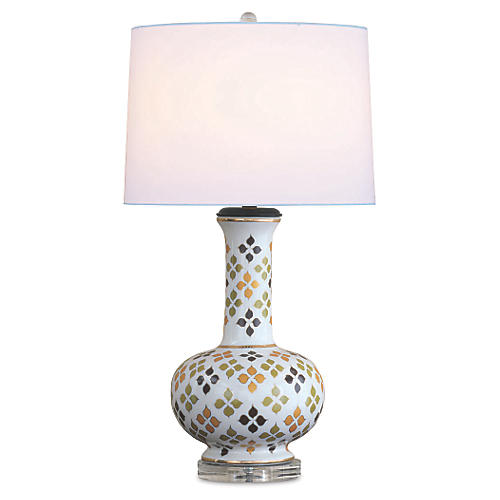 Woodstock Table Lamp, Multi