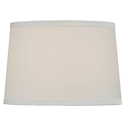 Hardback Lamp Shade, White