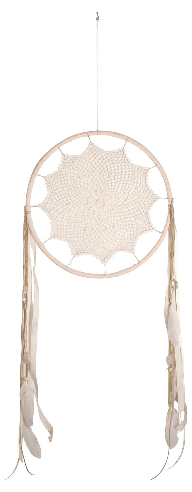 Large Lace Dream Catcher