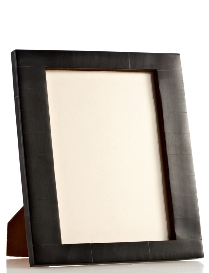 Uneven Bone Frame, 5x7, Black