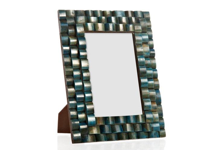 Stepped Bone Frame, 4x6, Green