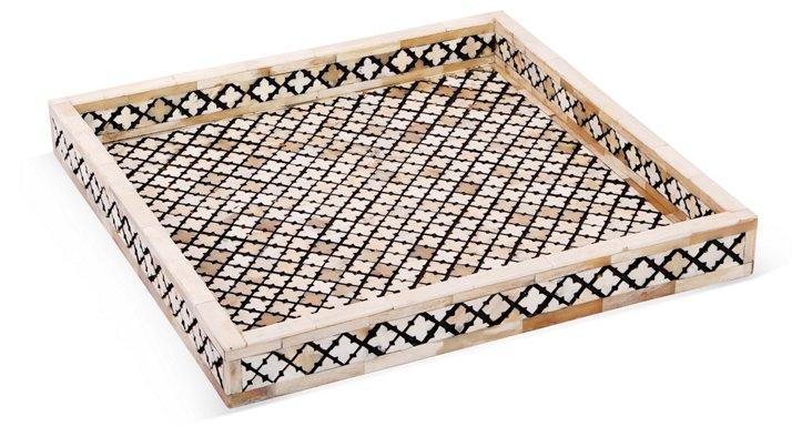Small Alhambra Tray, Ivory