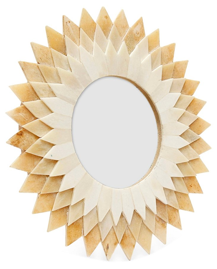 Spiked Frame, 4x4, Tan