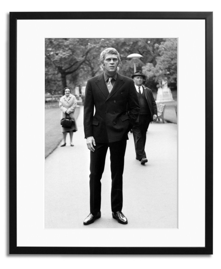 Steve McQueen in London