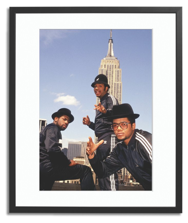Run DMC at the Empire State Building