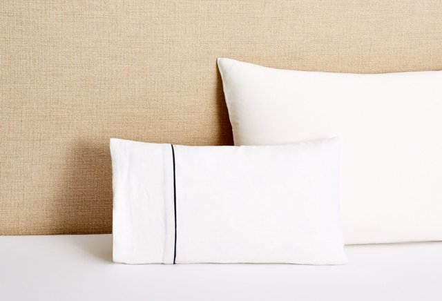 Lucia Accent Pillow with Insert, White