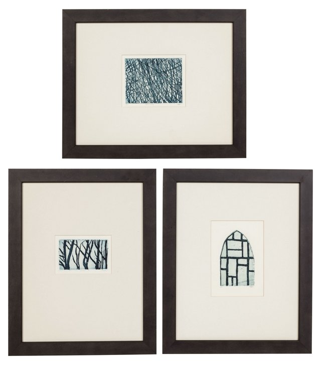Relief Prints, Set of 3