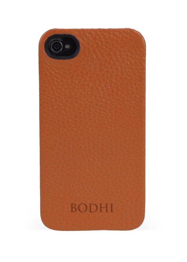 Leather iPhone Case, Burnt Orange