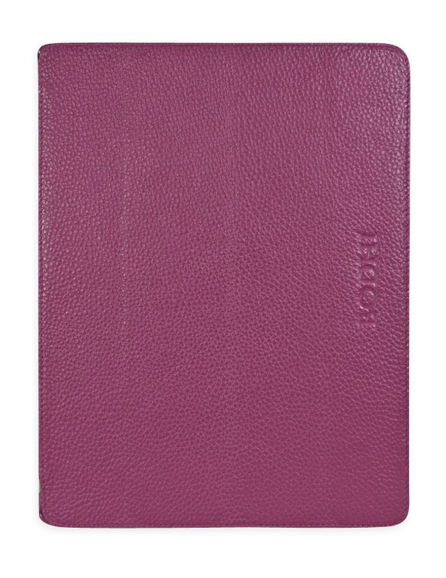 Ultra Thin Leather iPad Easel, Berry
