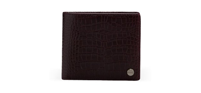 Slim Fold Wallet, Deep Purple
