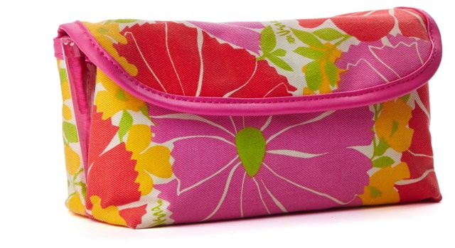 Cosmetic Bag Organizer, Magenta
