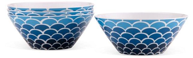 S/4 Melamine Fish Bowls