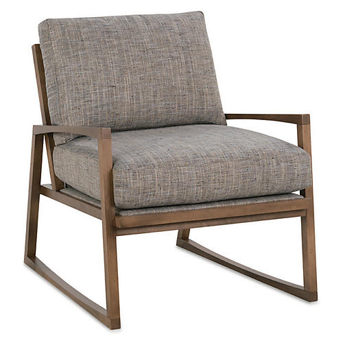Markus Chair, Heathered Slate