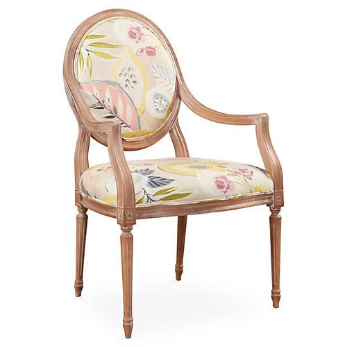 Laila Armchair, Blush Floral