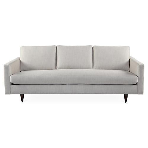 """Anniston 84"""" Sofa, Platinum"""