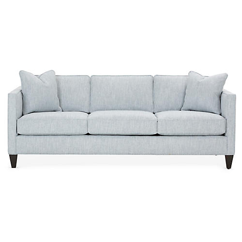 Cecilia Sleeper Sofa, Light Blue