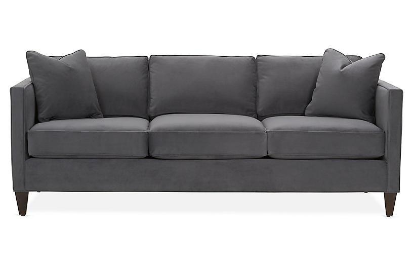 Cecilia Velvet Sleeper Sofa