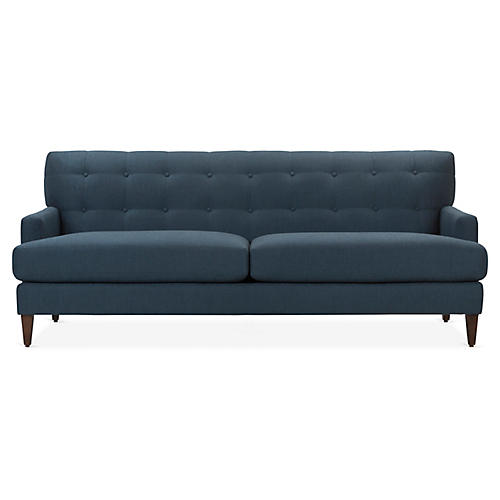 Marine Sofa, Indigo