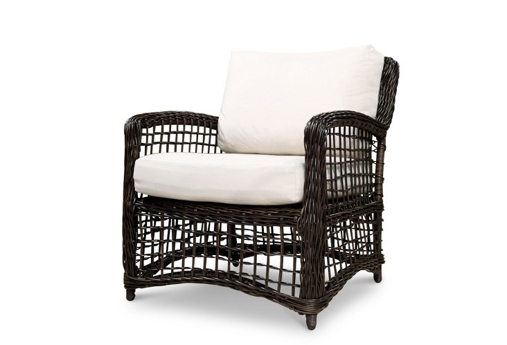 Rope Weave Lounge Chair