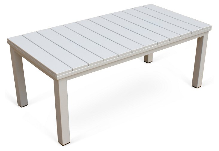 Fusion Coffee Table, White