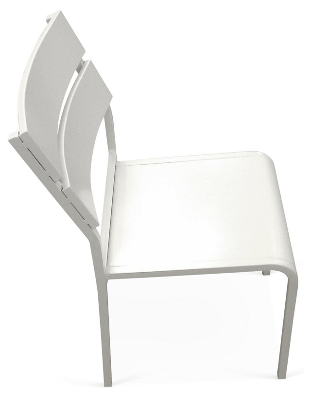Fusion Side Chair, White