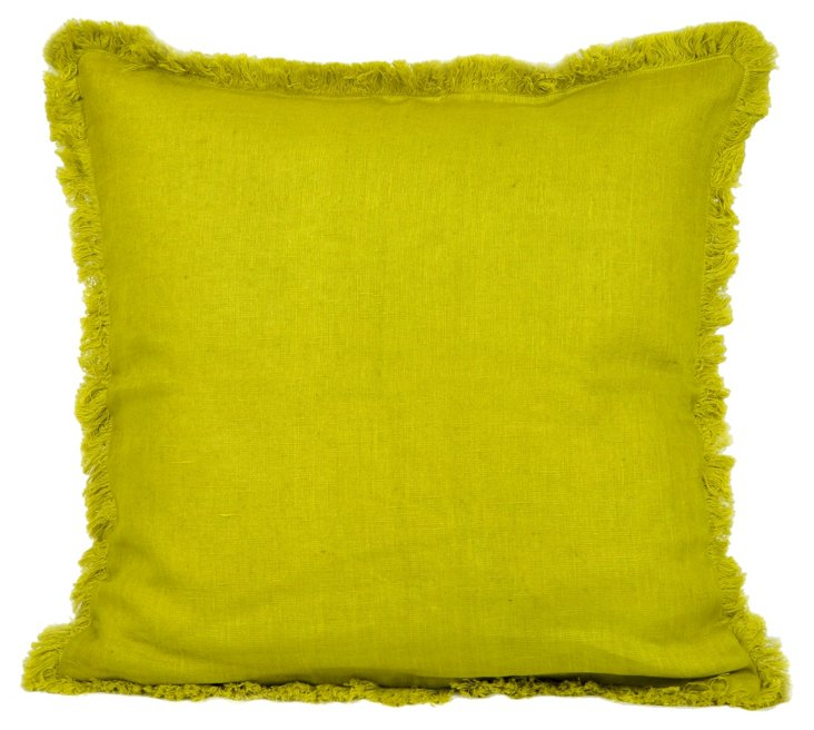 Lilo Accent Cushion Cover, Chartreuse