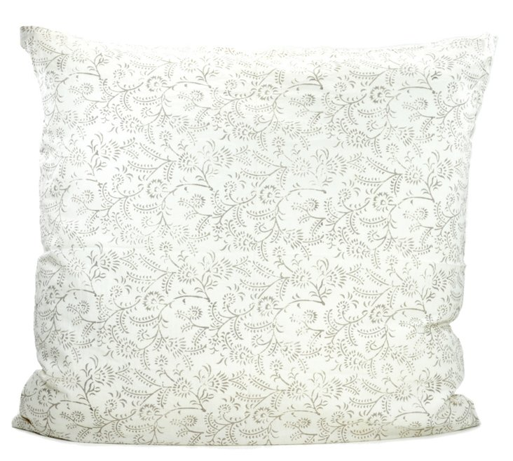 Ivy Cushion Cover, Dusk Gray