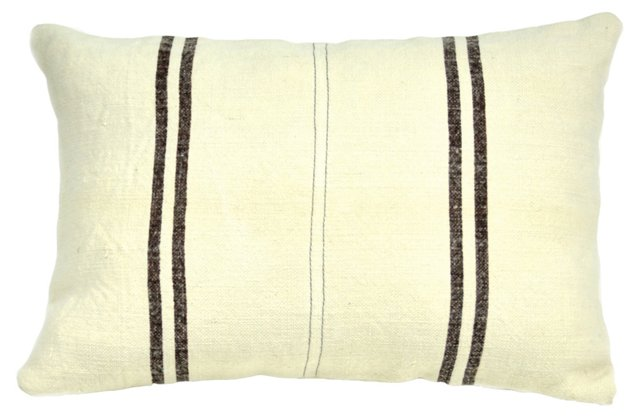 Kilim 14x20 Pillow, Brown