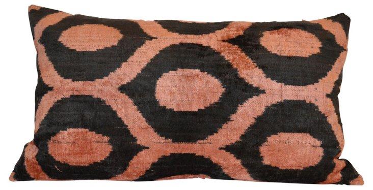 Mankato 16x24 Silk-Blend Pillow, Brown