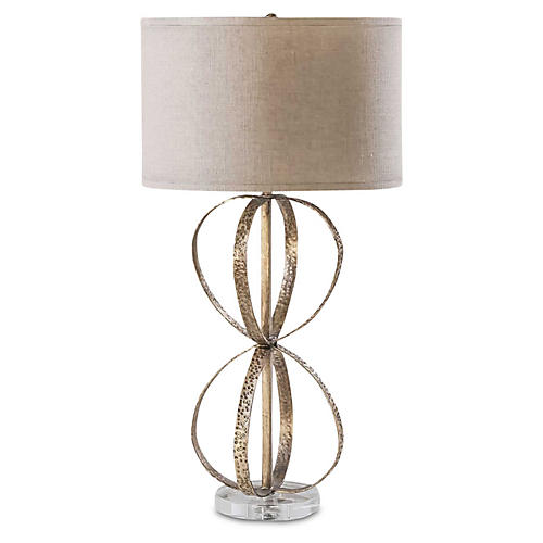 Callie Table Lamp, Gold