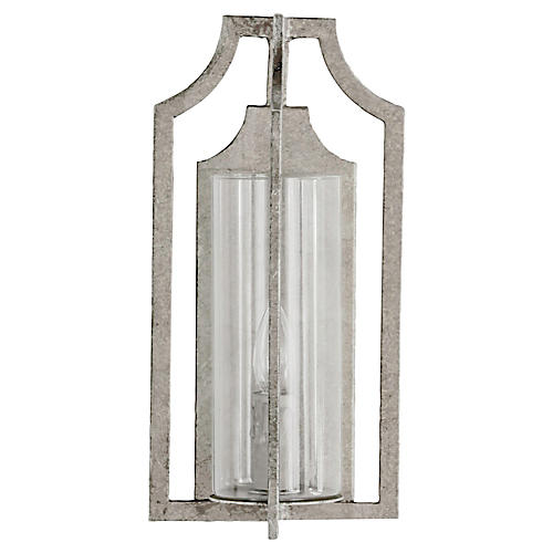Lola Sconce, Champagne Silver
