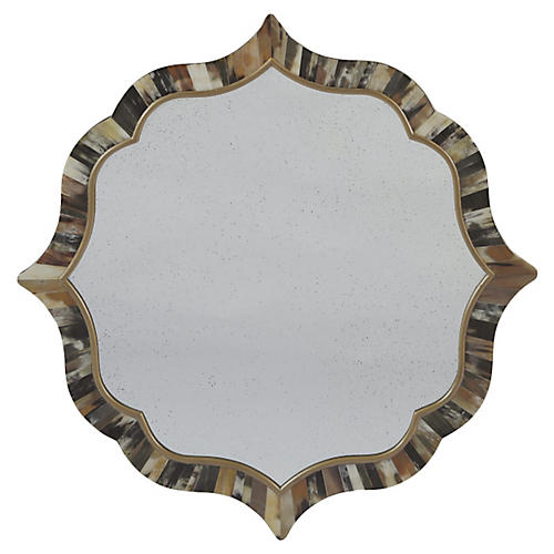 "Lawrence 30"" Wall Mirror, Multi"