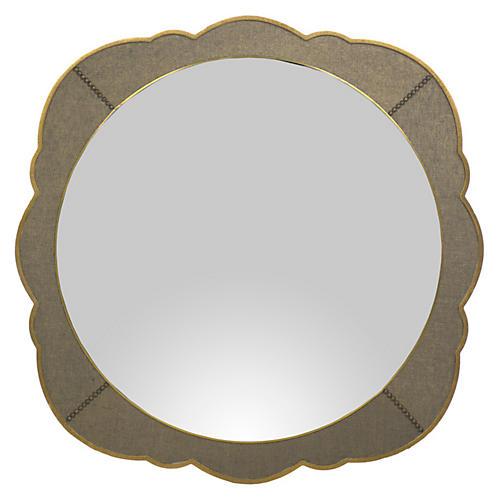 Ashton Wall Mirror Gilded Gold