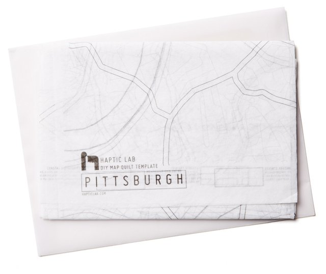 DIY Quilt Kit, Pittsburgh