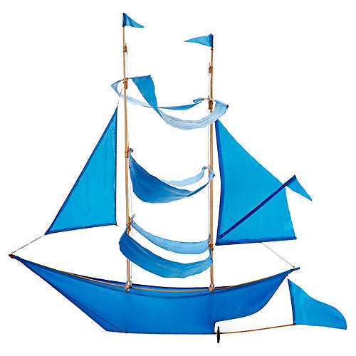 Sailing Ship Kite, Azure