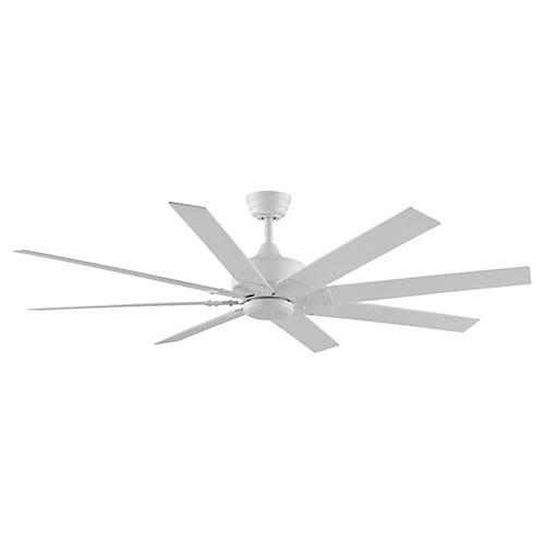 Levon Ceiling Fan, Matte White